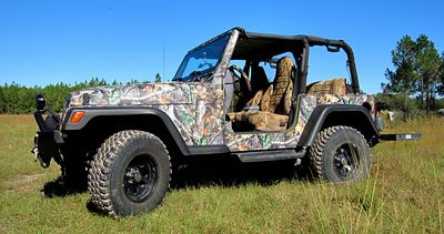 Partial Wrap Jeep