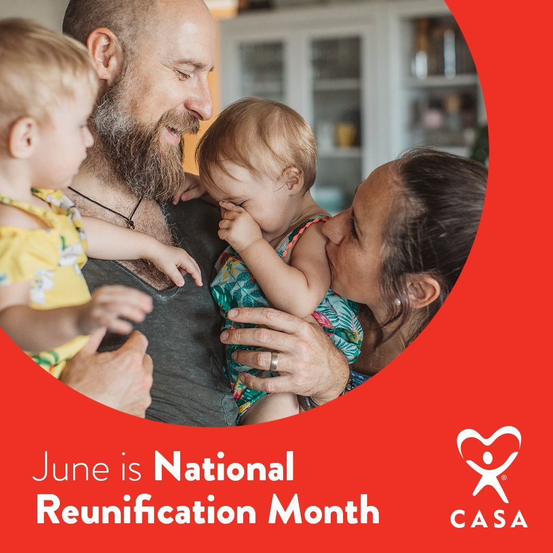 June is National Reunification Month.