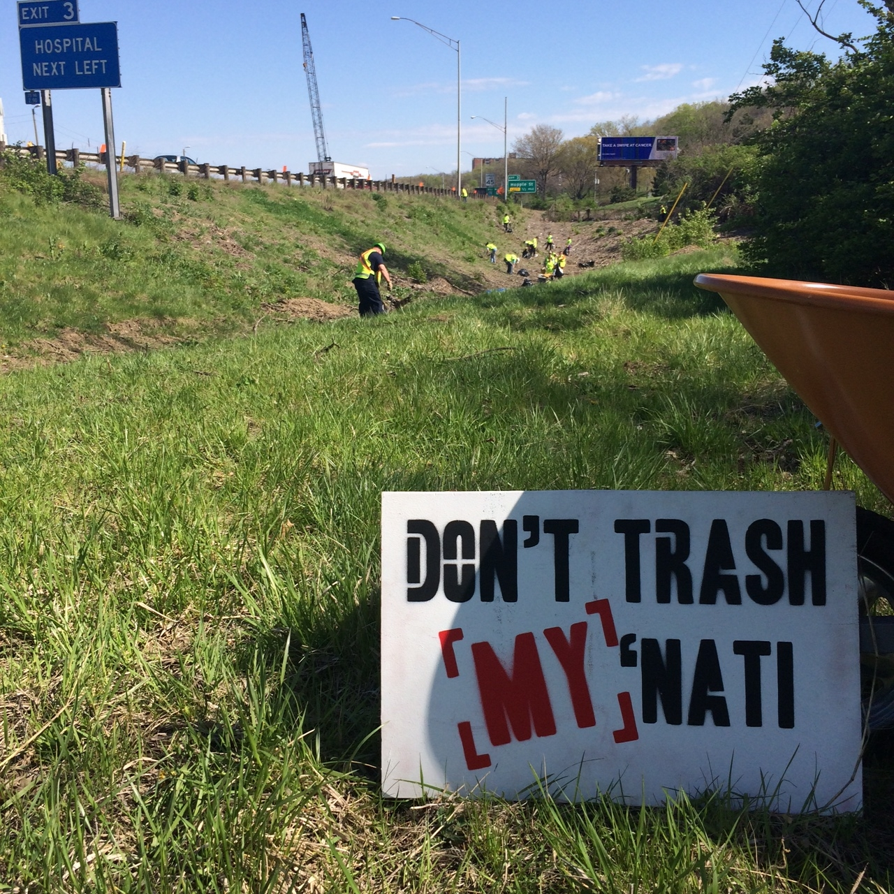 State Roadway Cleanup