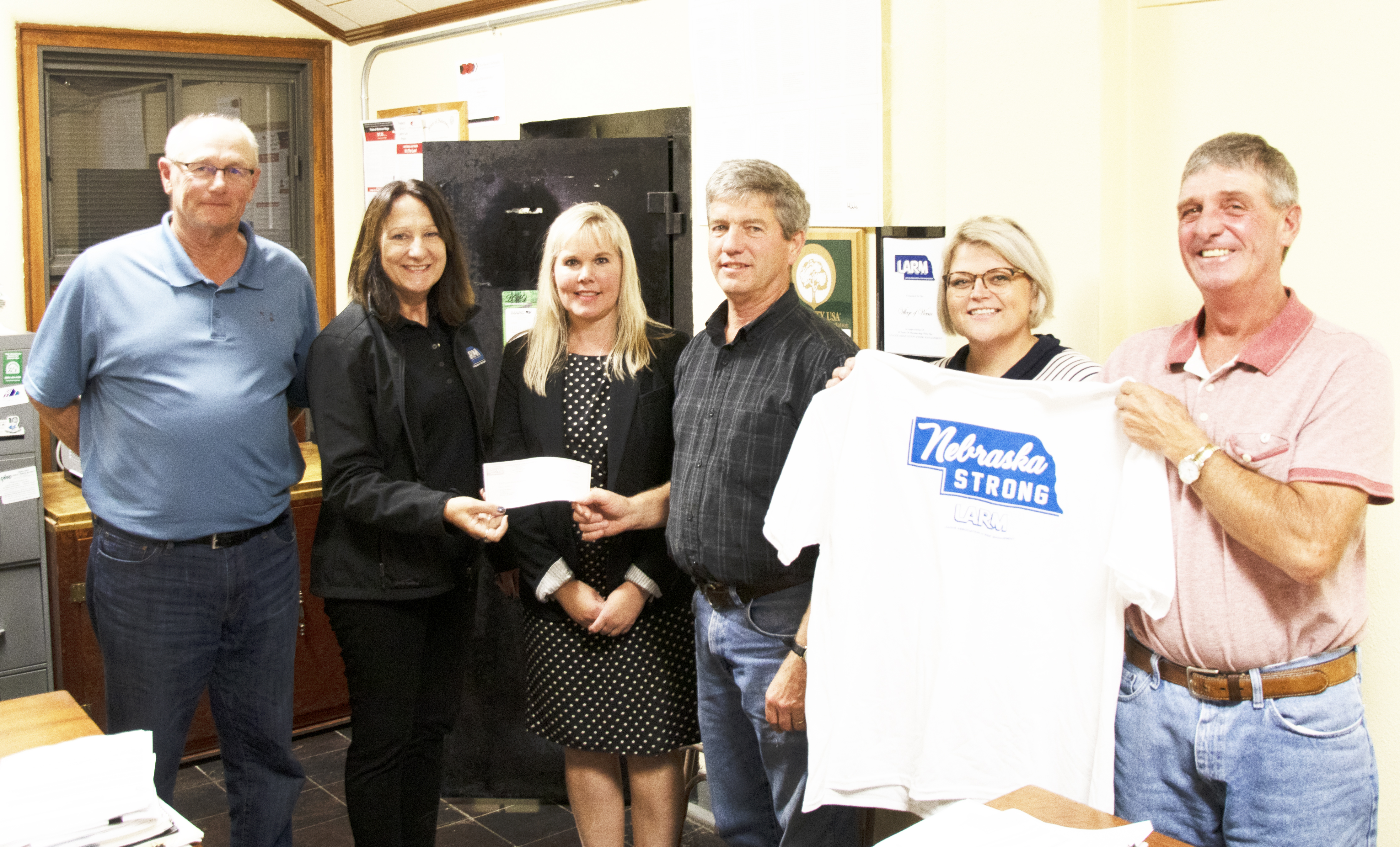 Village of Wausa receives $500 Disaster Relief Grant