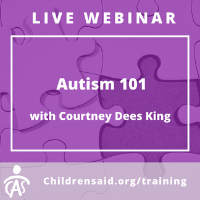 APAC Webinar-  Autism 101