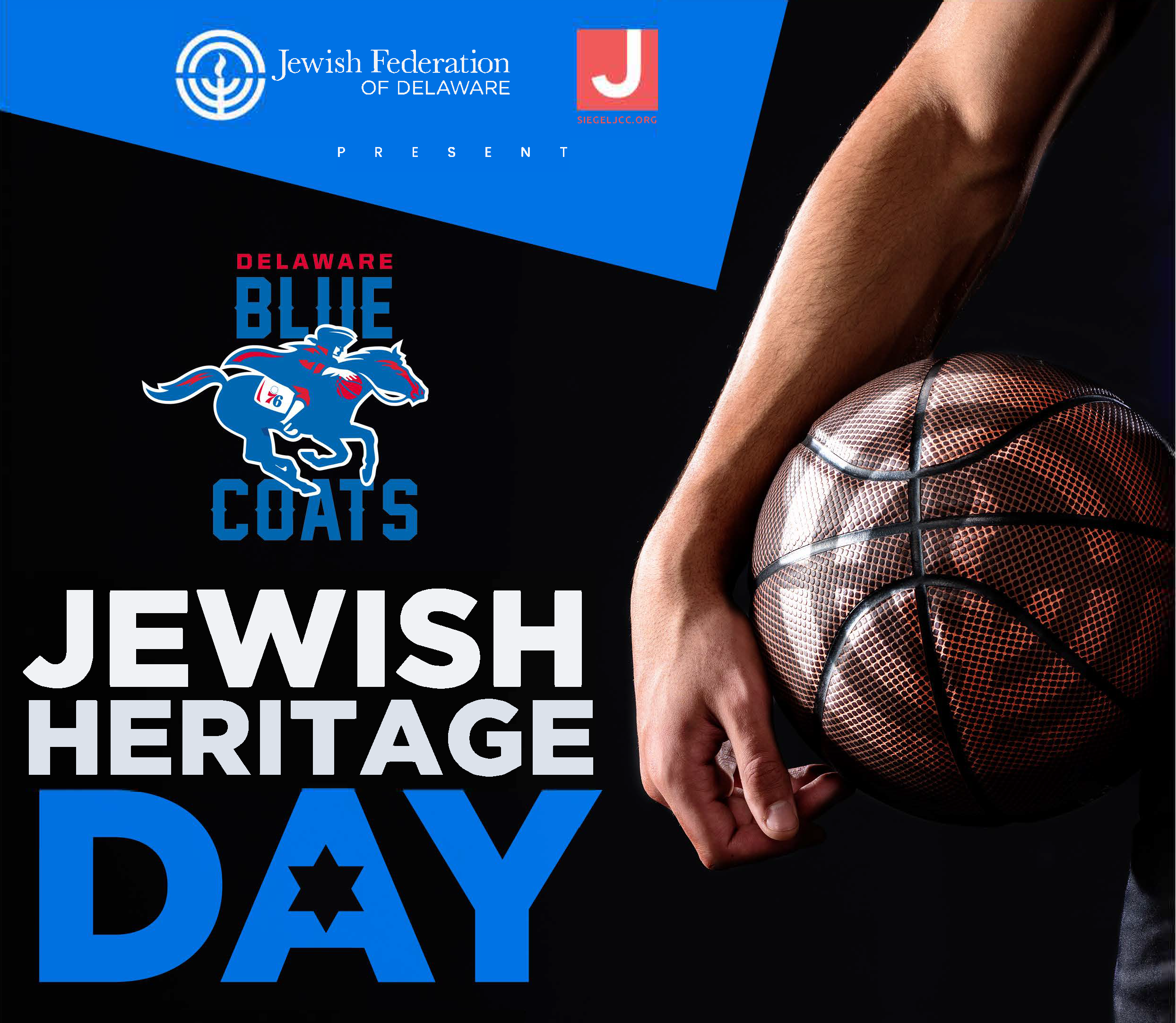 Jewish Heritage Day at the Delaware Blue Coats