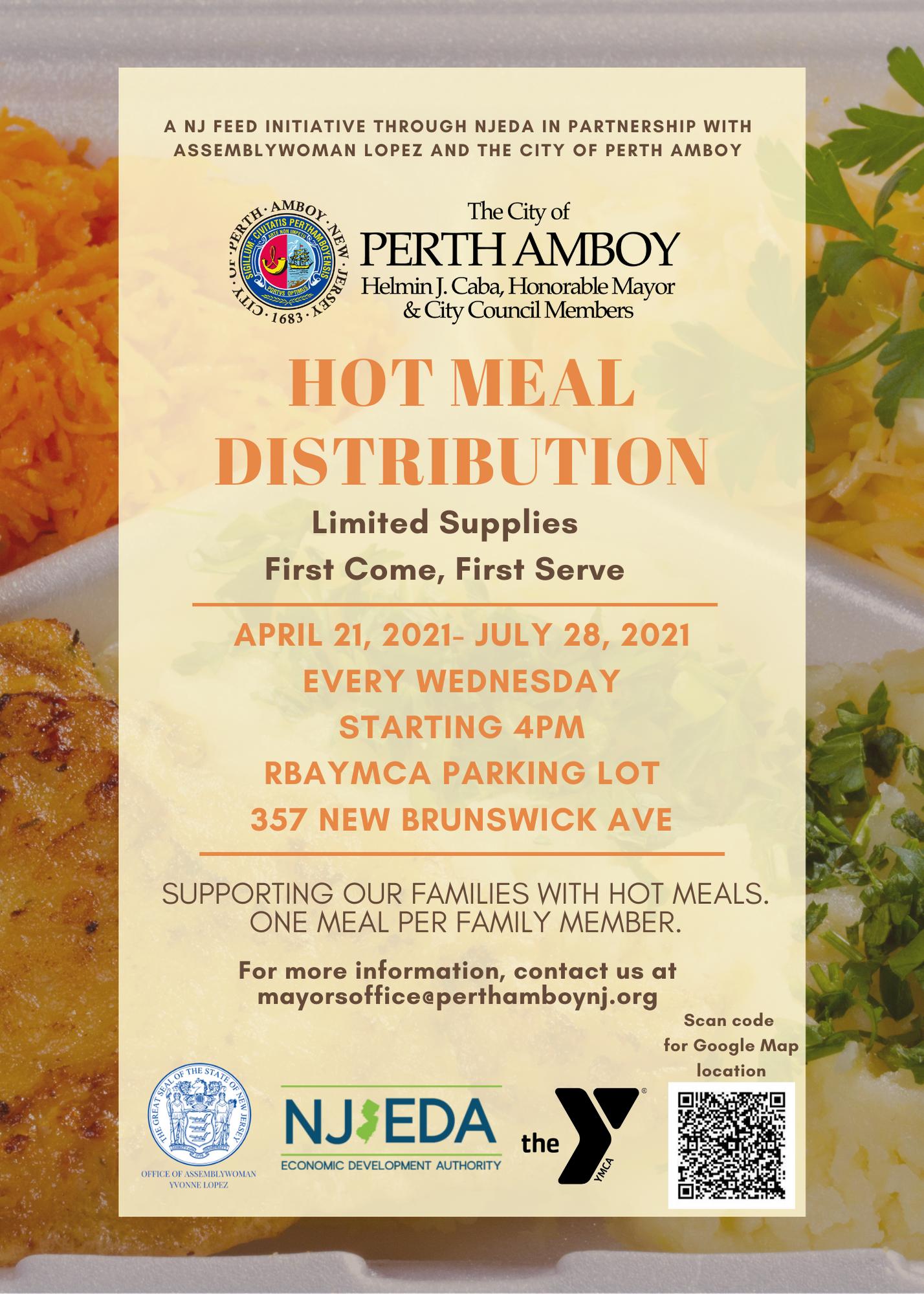 Hot Meal Distribution