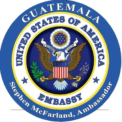 U30324 - US State Department Seal Embassy Personalized (with Country) Carved Wood Wall Plaque