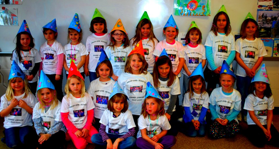 Sand Creek Daisy's Celebrate Girl Scout Birthday