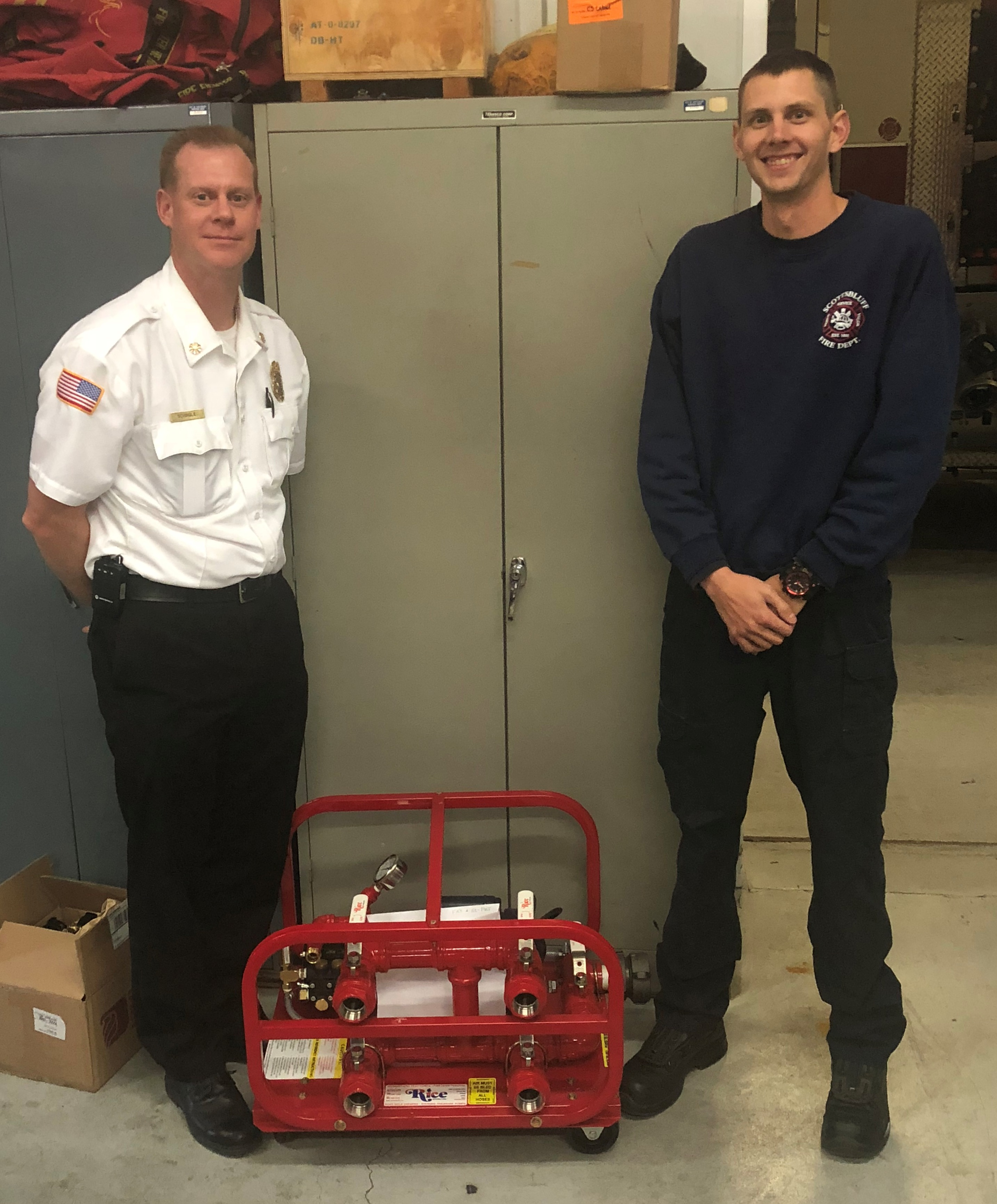 Scottsbluff Fire Department increases fire hose safety