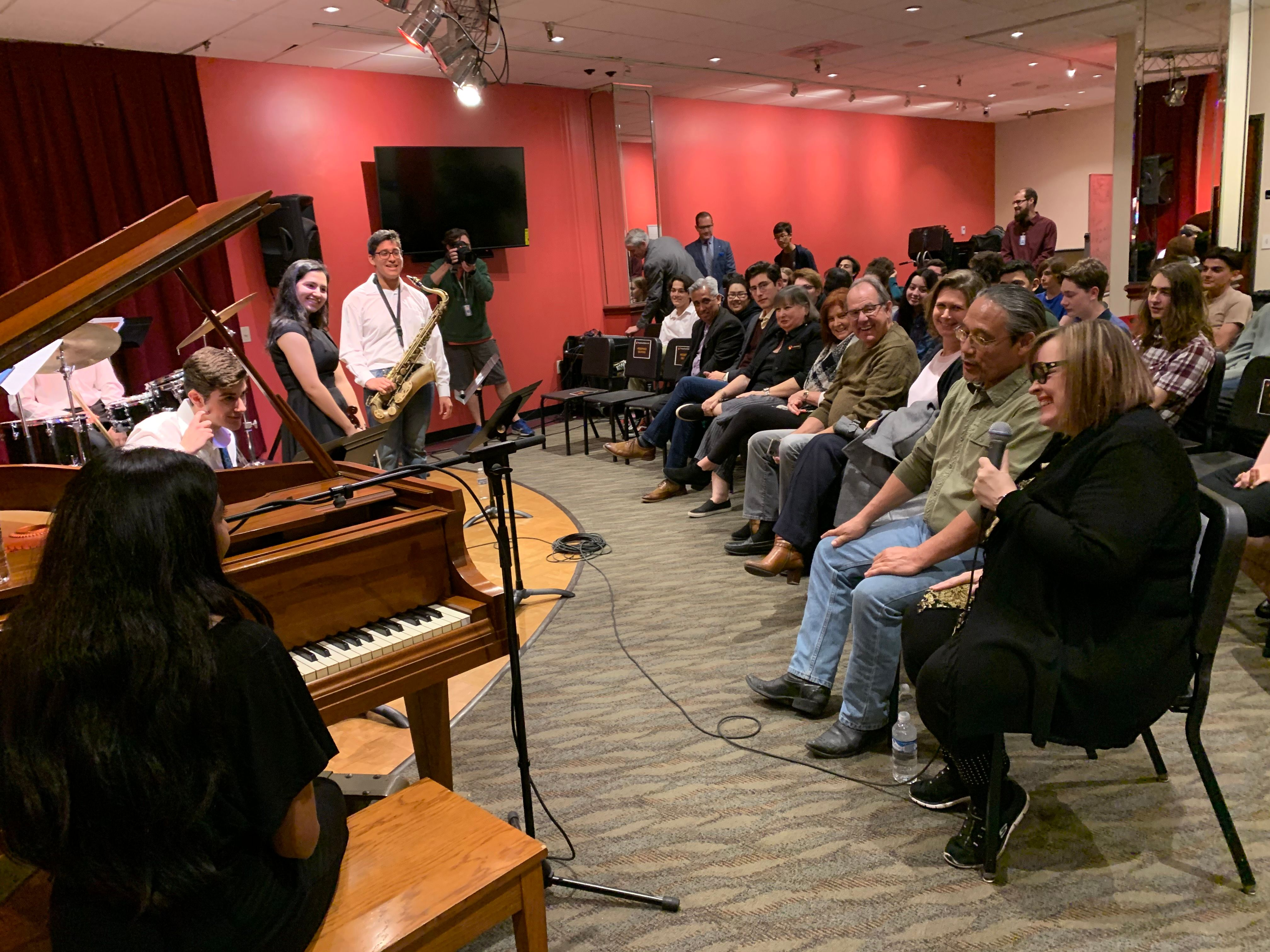 Diane Schuur Master Class for Jazz Students at the Orange County School of the Arts