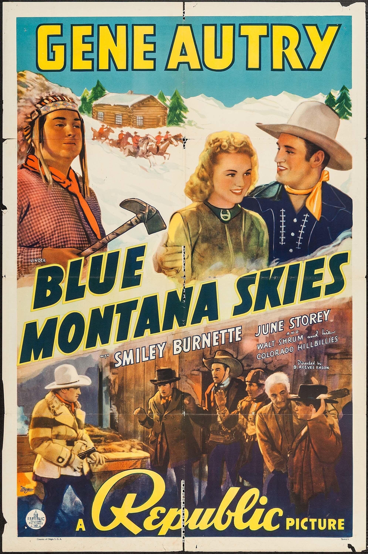 Blue Montanna Skies
