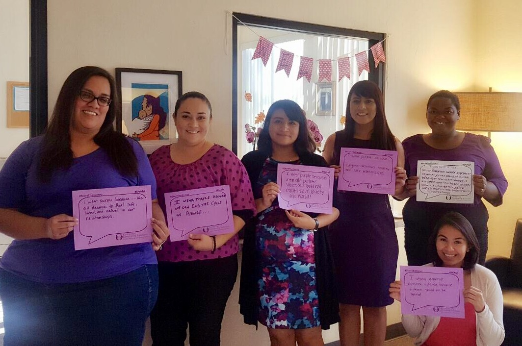 Purple Thursday: Wear Purple in Support of Domestic Violence Awareness