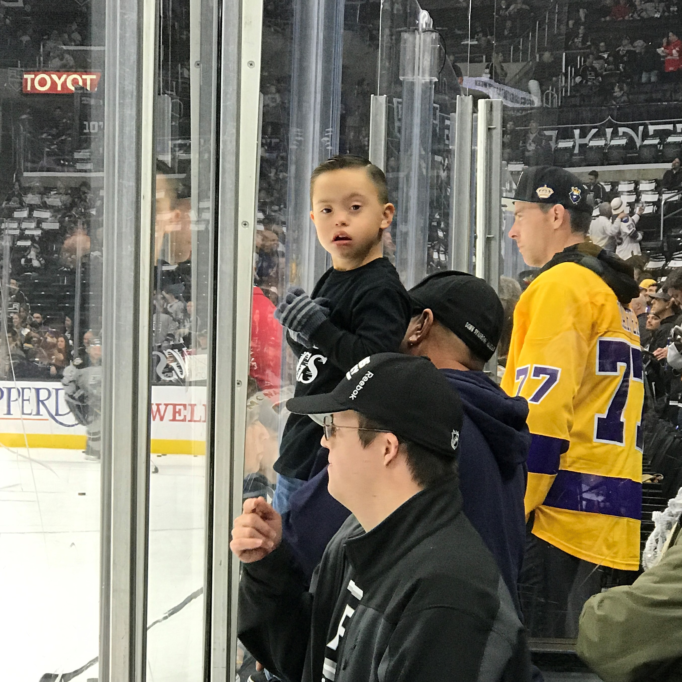 WDSD with LA Kings