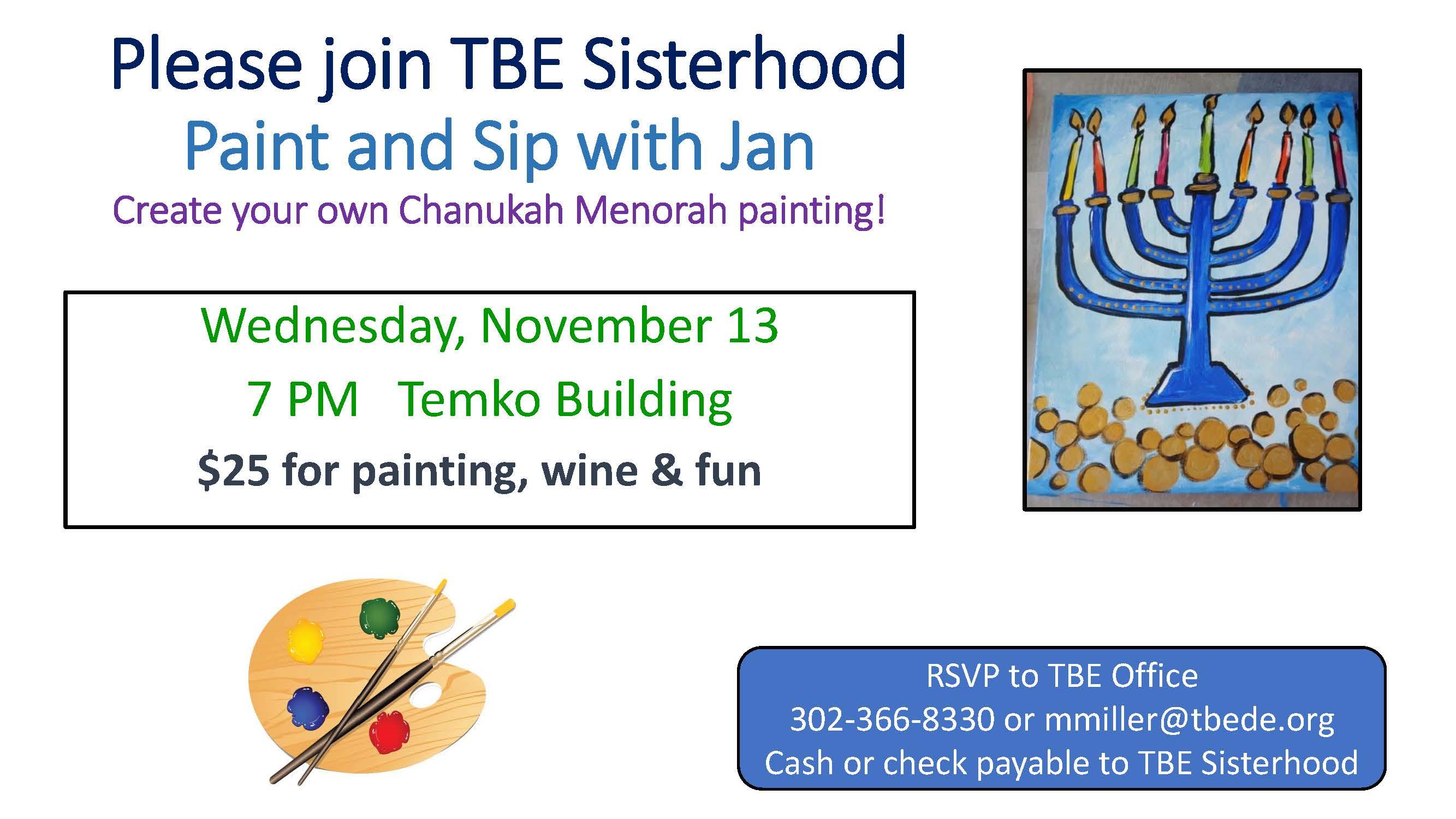 Sisterhood Paint and Sip