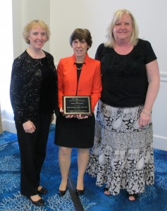 *  DR. JOAN BRUNO receives the prestigious 2013 NJSHA HONORS of the ASSOCIATION AWARD