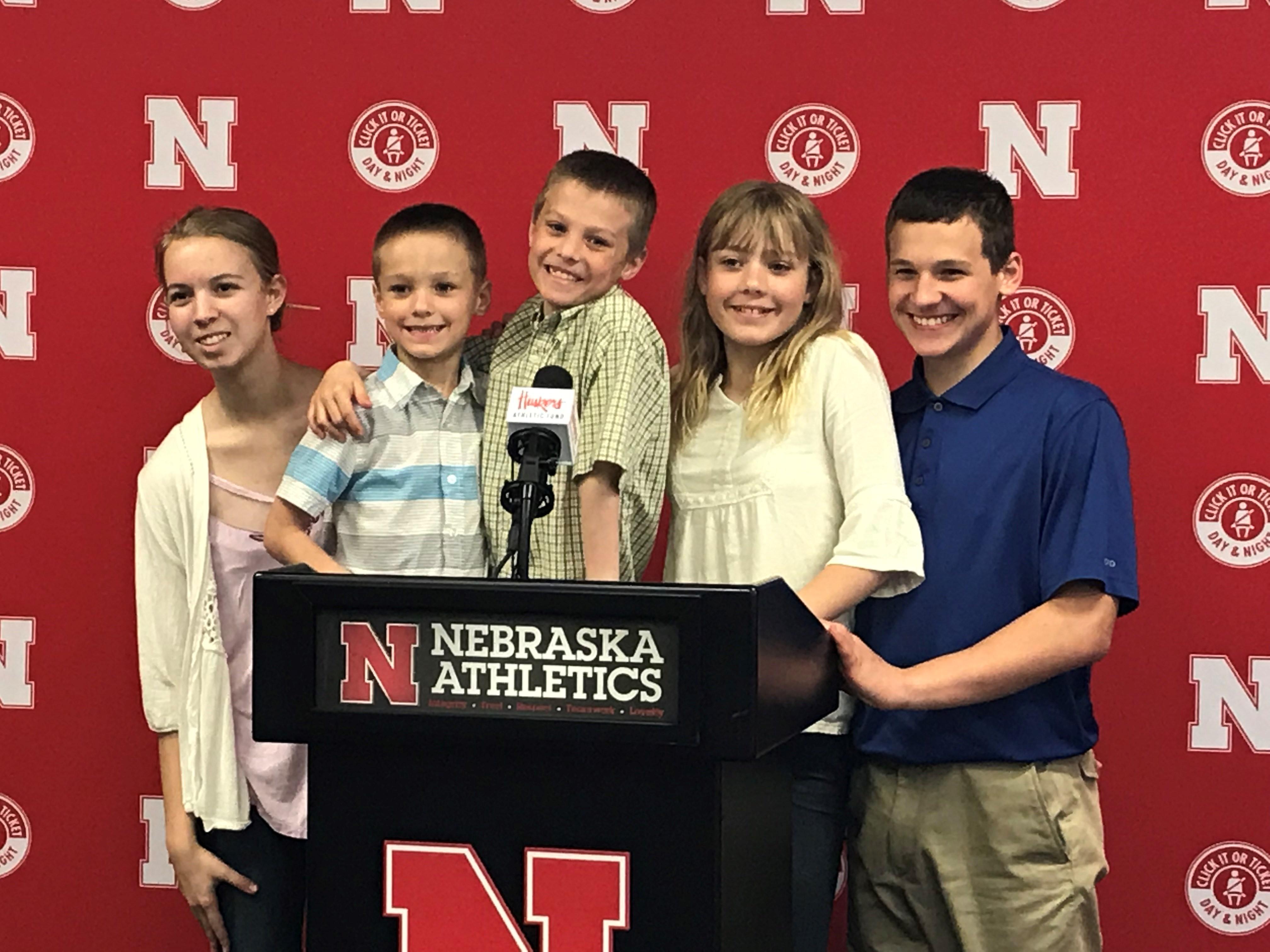 Family Press Photo