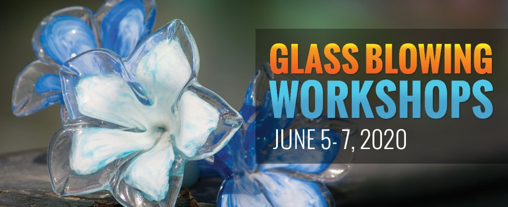 CANCELLED: Glassblowing: Spring Flowers - June 7