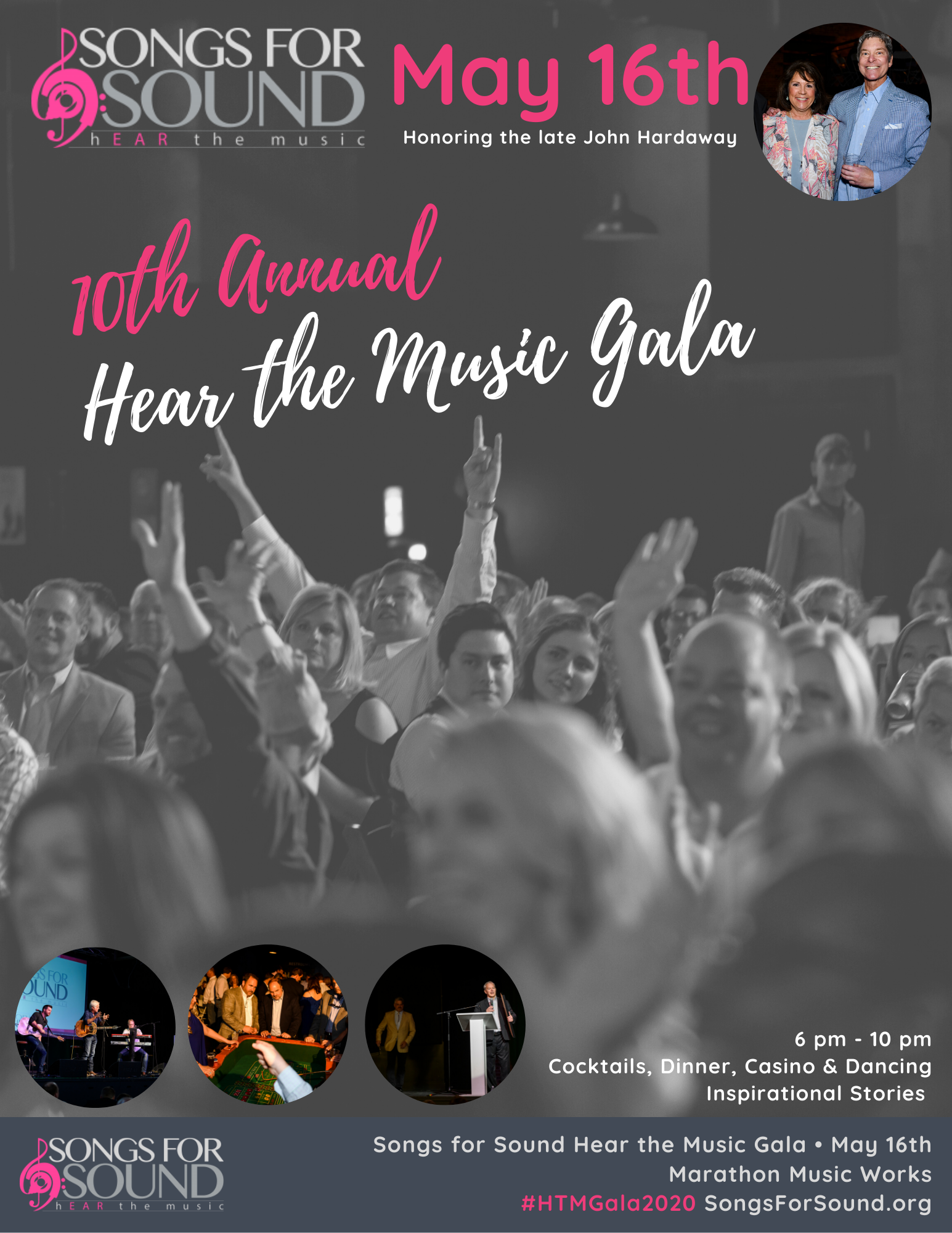 2020 Hear the Music Gala Sponsorship - Be an Event Sponsor