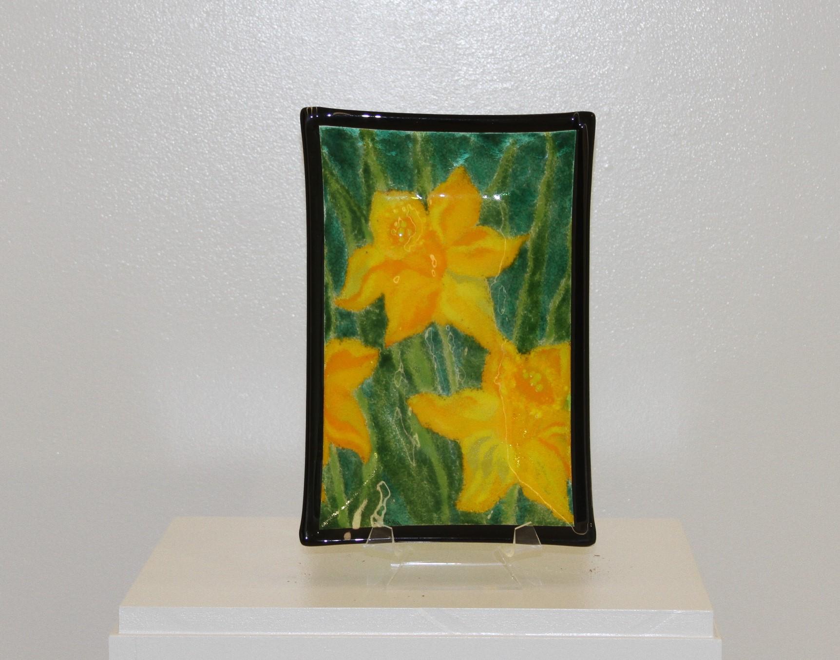Daffodils - Black Border