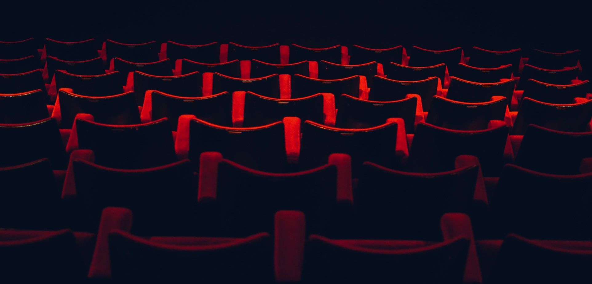 Image of red theater seats