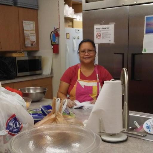 Aprily cooks in Wilbur