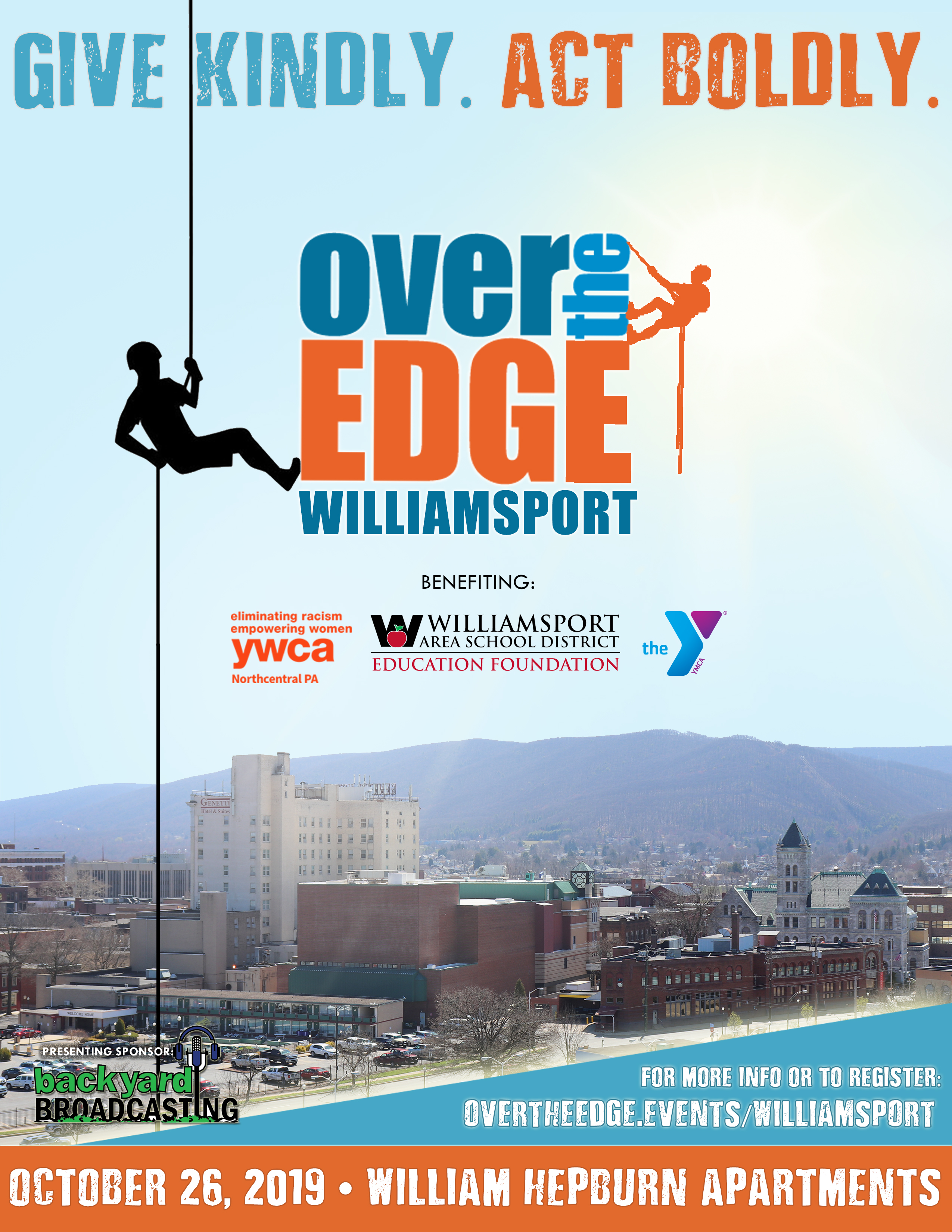 Over the Edge: Williamsport to Return This Fall
