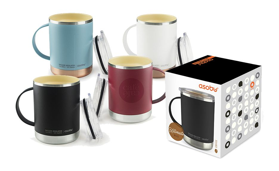 ASOBU® ULTIMATE SPILL-PROOF TRAVEL MUG