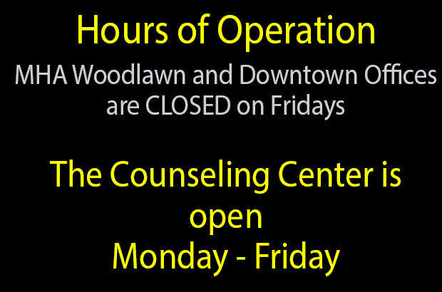 The Counseling Center is located at 9415 E Harry, Suite 800.