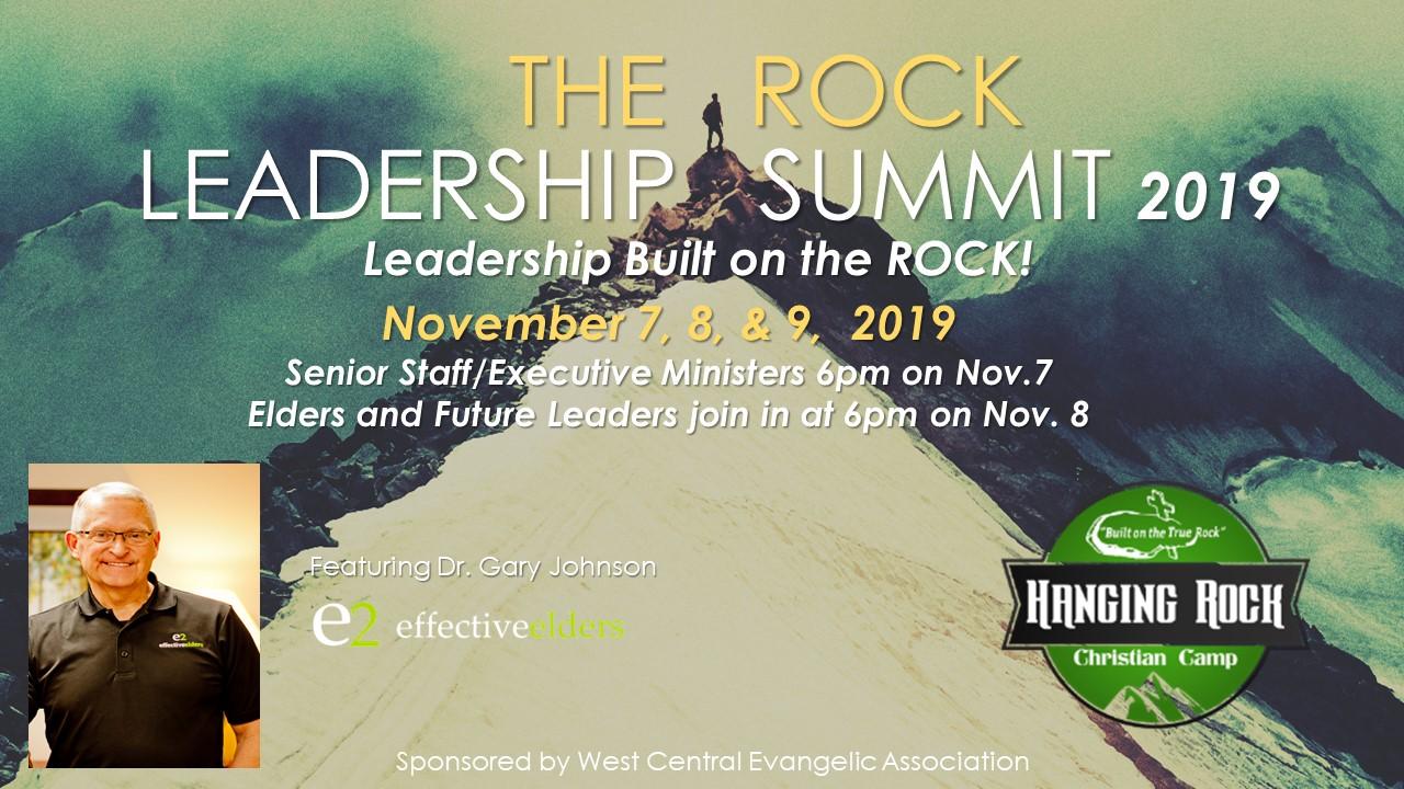 The Rock Leadership Summit 2019