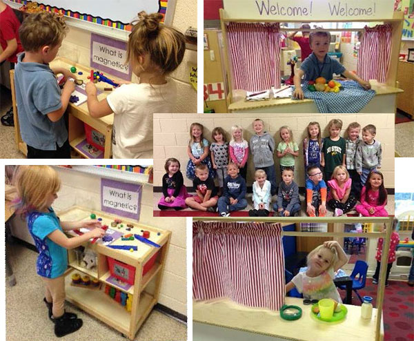 Grant Helps Preschoolers Learn at Play
