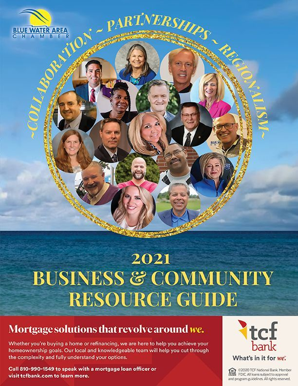 2021 - Blue Water Area Chamber Business & Community Resource Guide