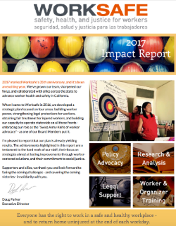 Worksafe Releases 2017 Impact Report