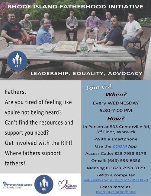 Hybrid RIFI fatherhood group