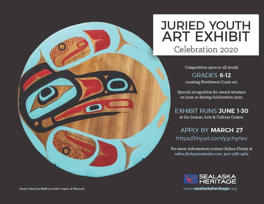Jurried Youth Art Exhibit SeaAlaska Heritage