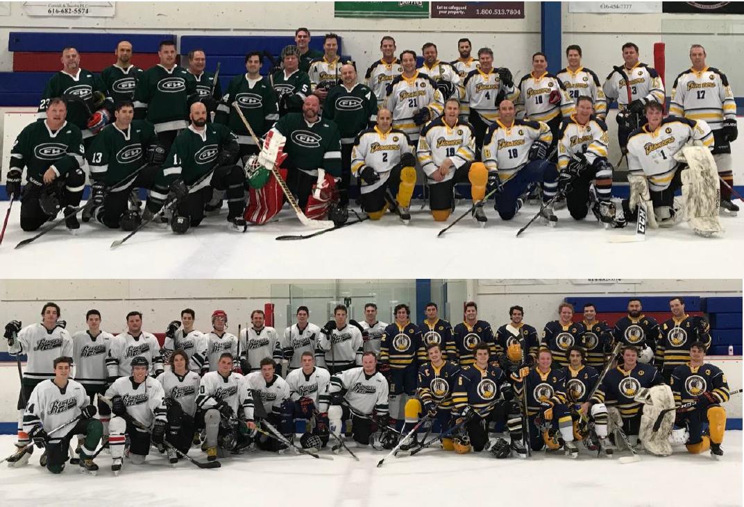 Alumni hockey teams 2017