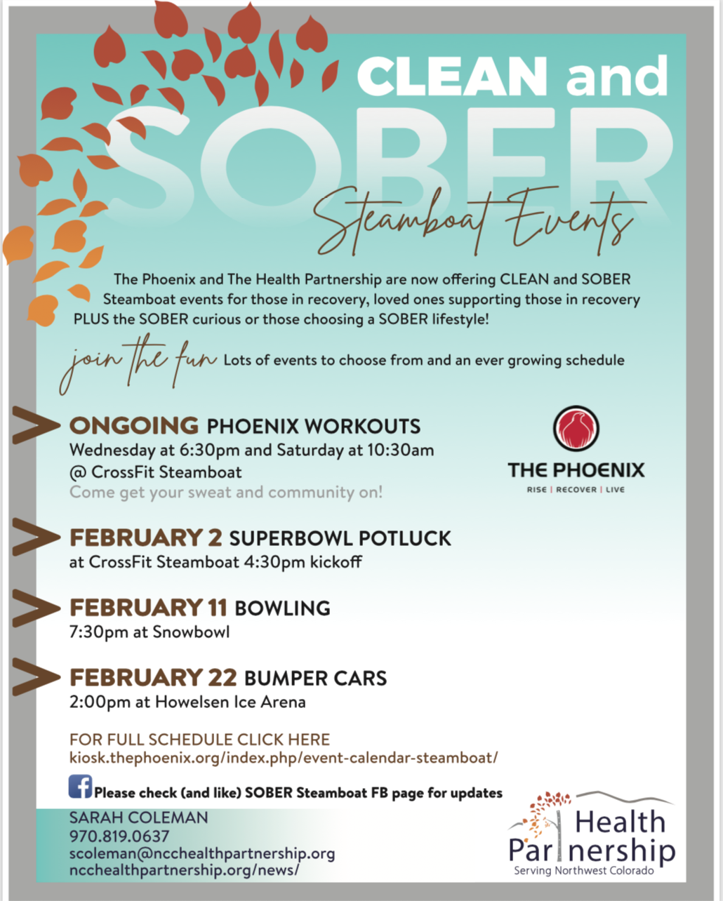 February Sober Events