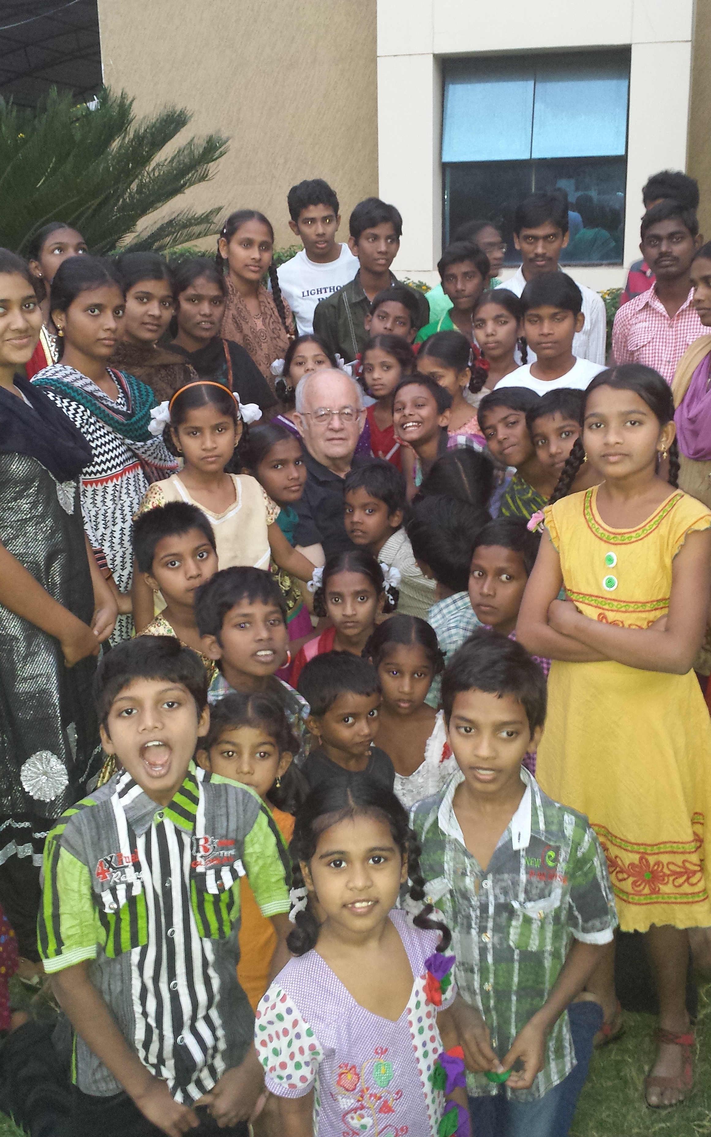 Visit in India