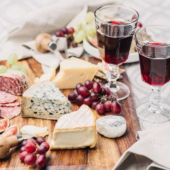 An Evening of Wine and Cheese Exploring Spain