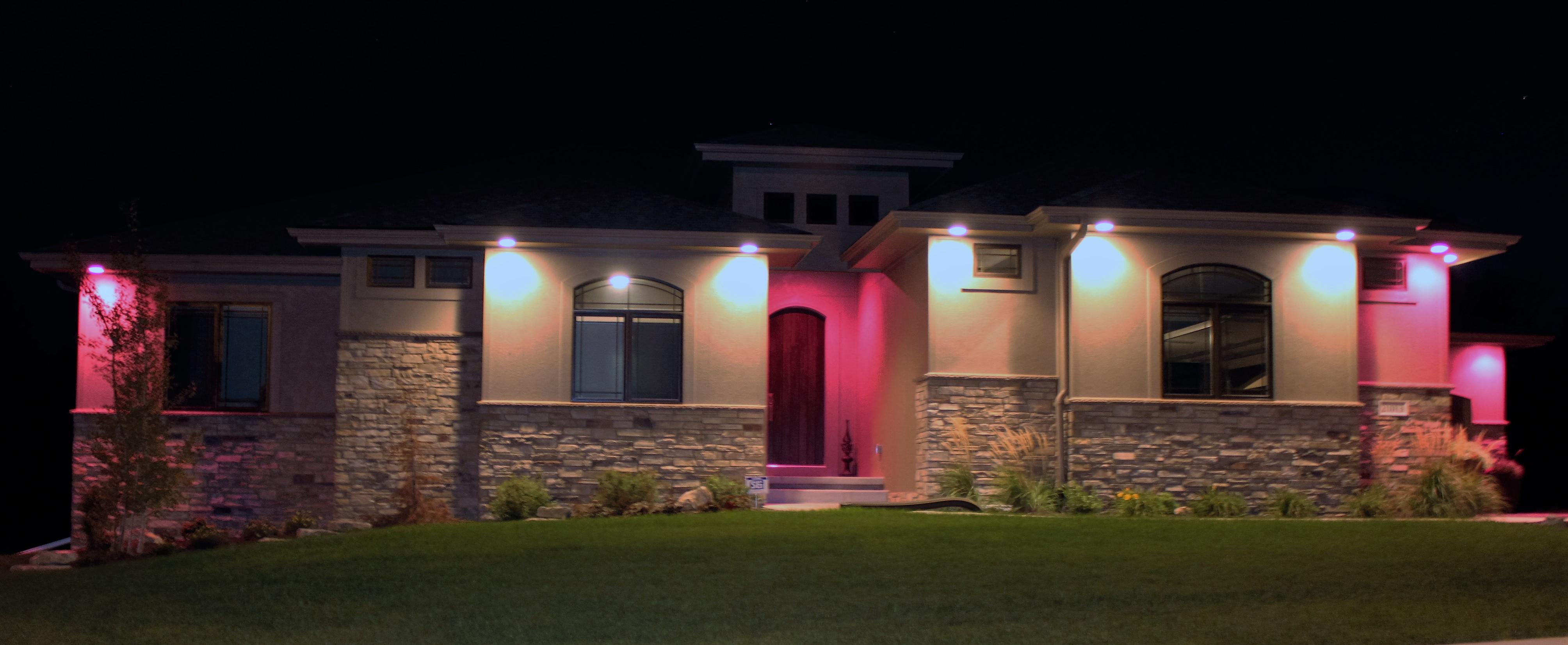 Light Up Omaha Pink'd