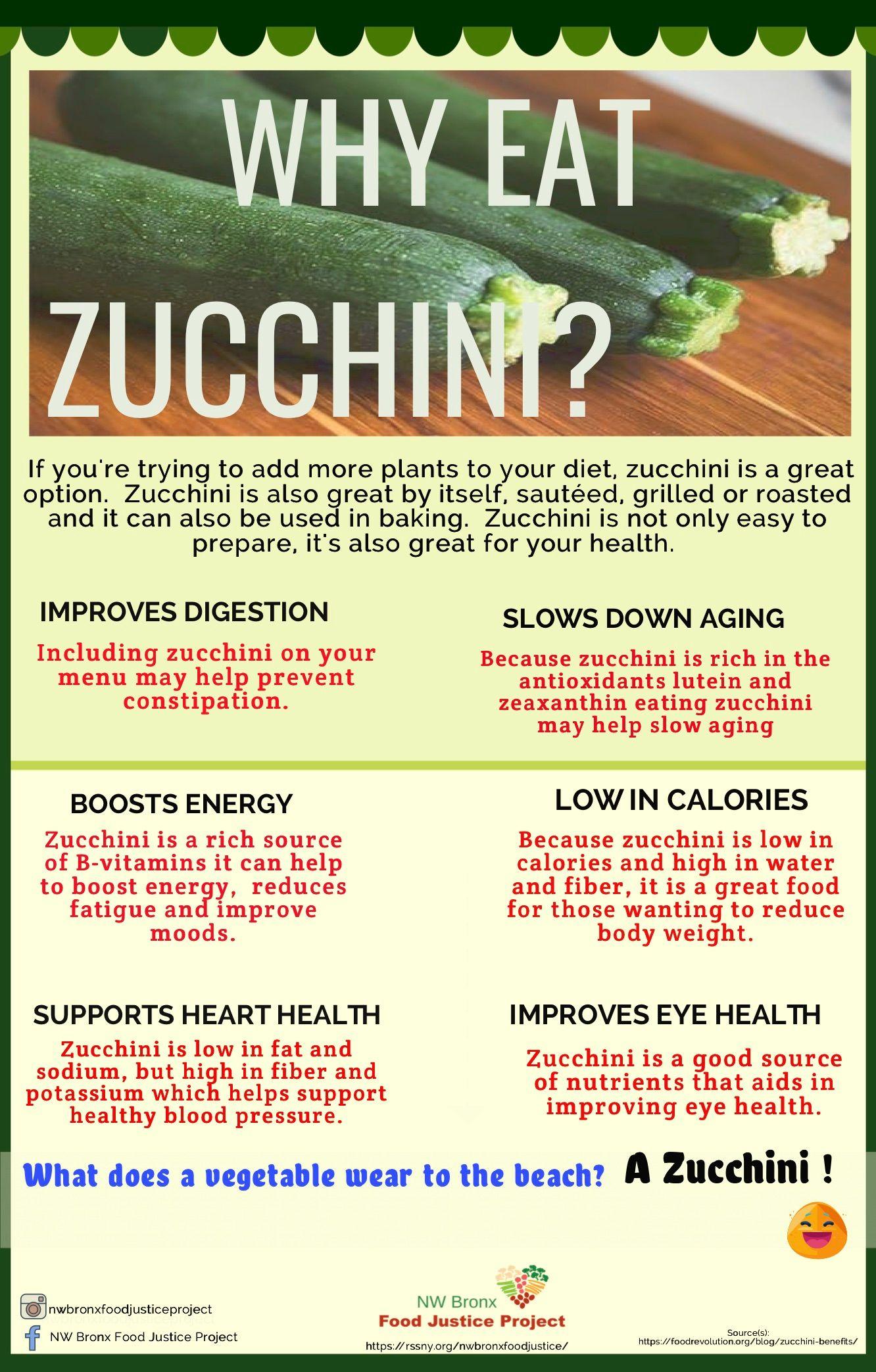 Why Eat Zucchini?