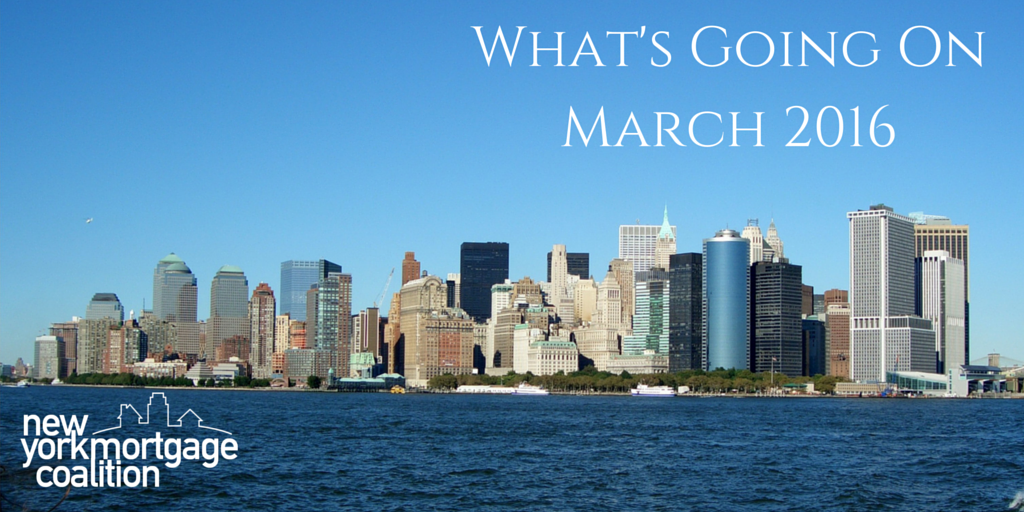 What's Going On: March 2016