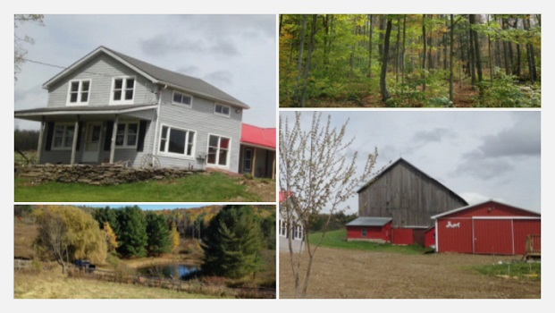 One-week at Idyllic Farmhouse for 10 in Afton, NY + Car Rental