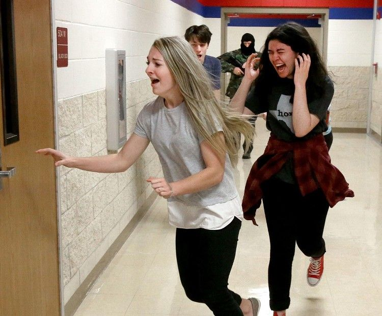 Gunshots, fake blood part of back-to-school safety training at Midway ISD