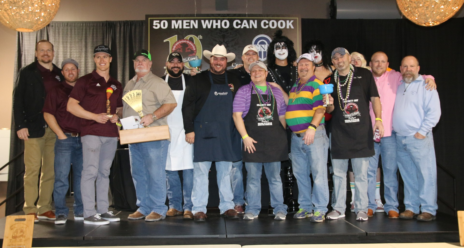2017 50 Men Who Can Cook Winners