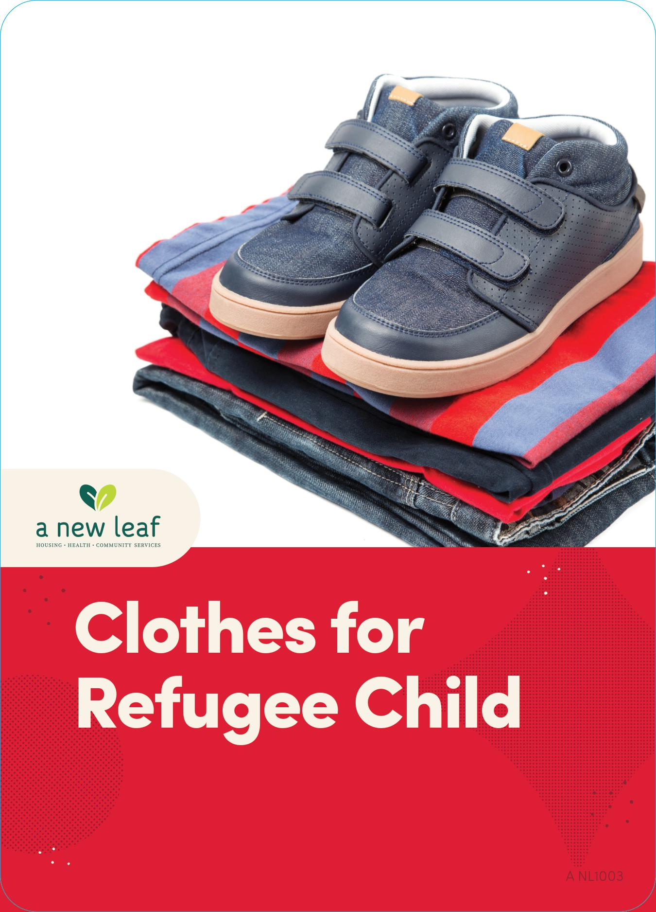 $50 - Clothes for a Refugee Child