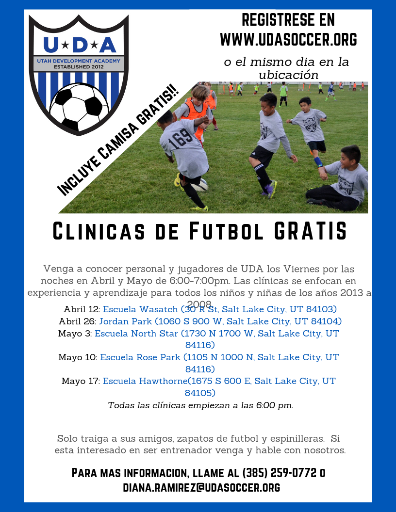 Spring Soccer Clinic