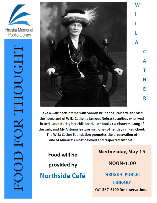 Food For Thought: Willa Cather