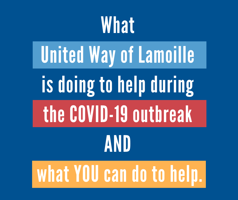 United Way of Lamoille County's COVID-19 Response
