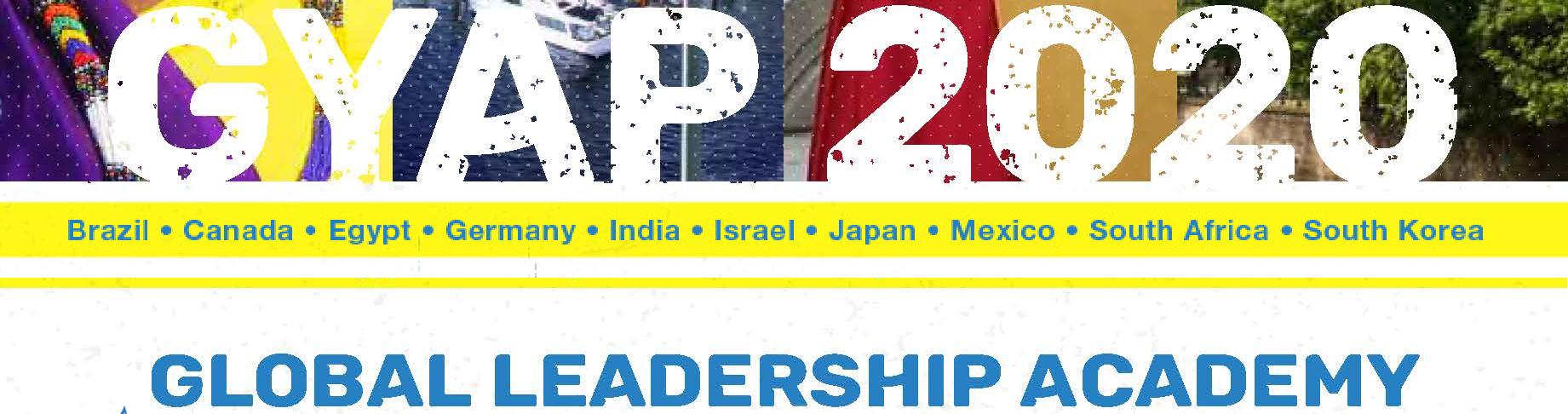 Global Youth Ambassadors Program Global Leadership Academy About Gla 2021