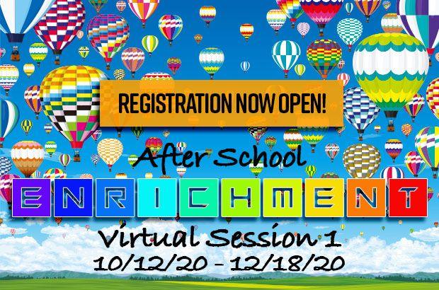 Enrichment Registration is now open!