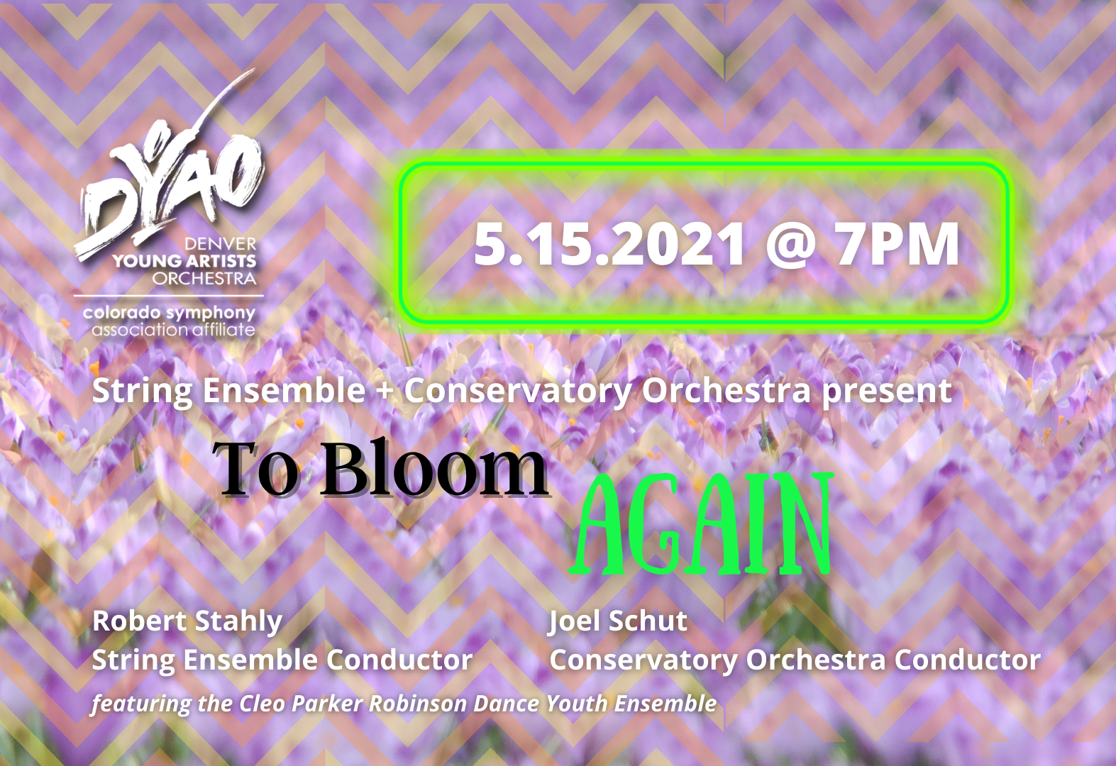 COSE presents To Bloom Again
