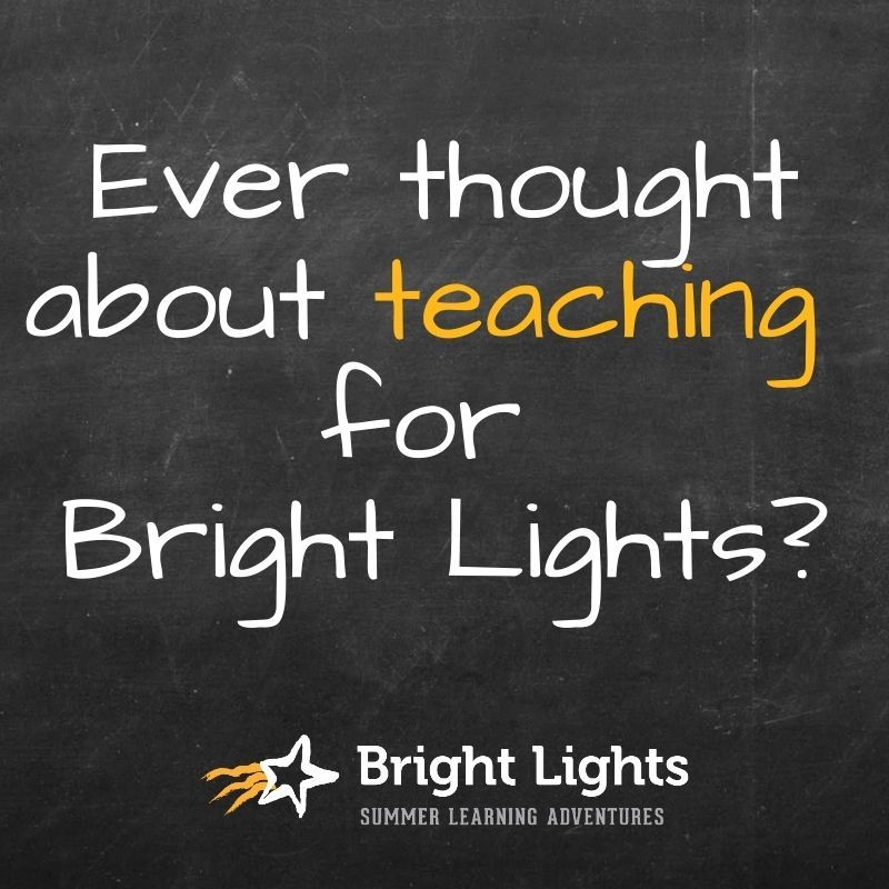 Teachers Are the Secret Sauce to Bright Lights
