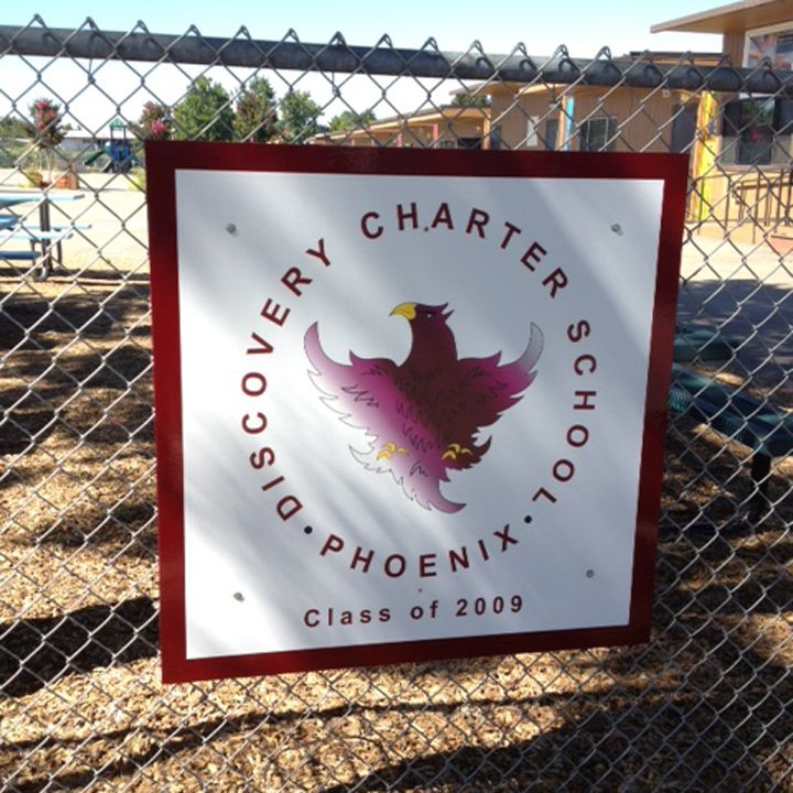 Discovery Charter School Sign